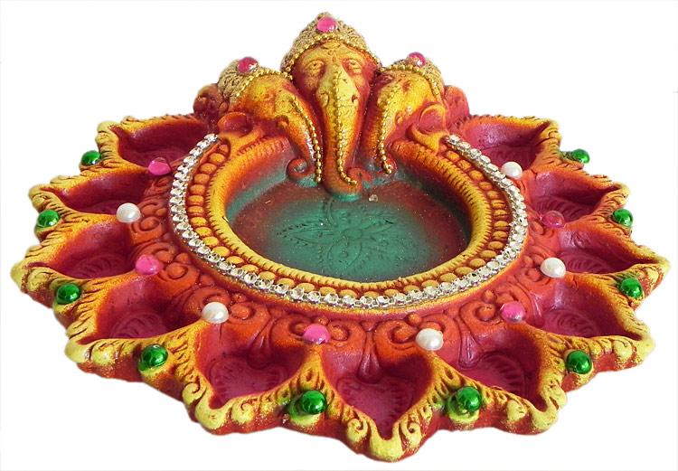 Ganesh Diyas / Lamps