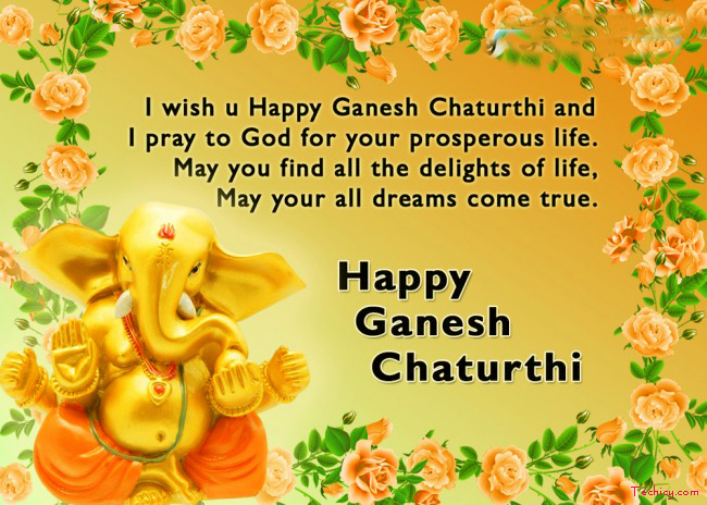 Happy Ganesh Chaturthi Status for Whatsapp