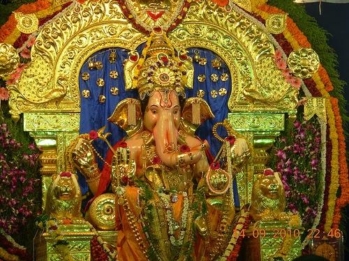 The GSB Seva Mandal's Ganapati Wadala