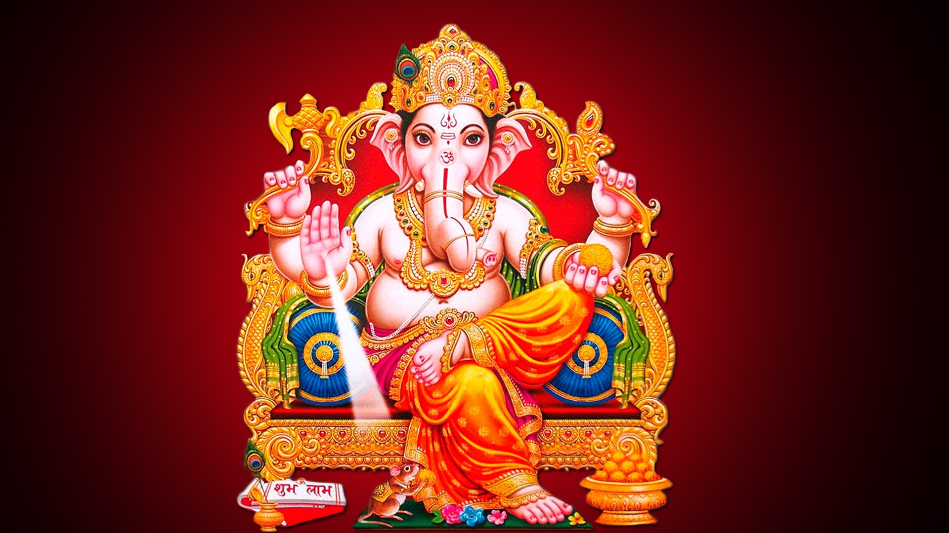 Hd wallpaper ganesh - Download Ganesh Chaturthi Hd Wallpaper