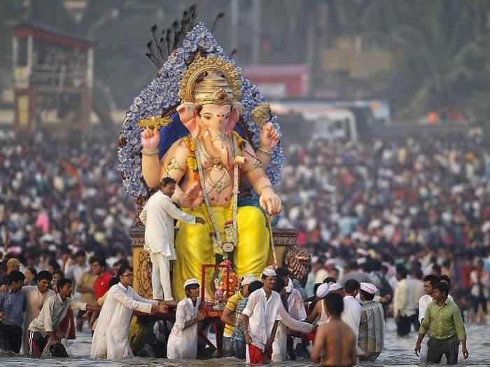 Ganesh Visarjan Images 2016 - Anant Chaturdashi Celebration in India